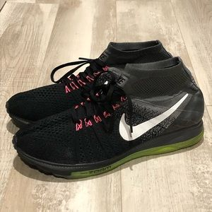 Nike Zoom All Out Flyknit blk/grey Volt